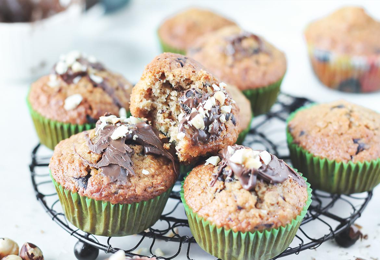 muffinki owsiane czekolada przepis