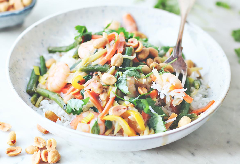 obiad po azjatycku krewetki satay codojedzenia