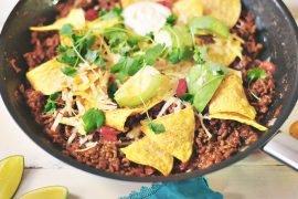 kuchnia meksykańska tacos mielona wołowina