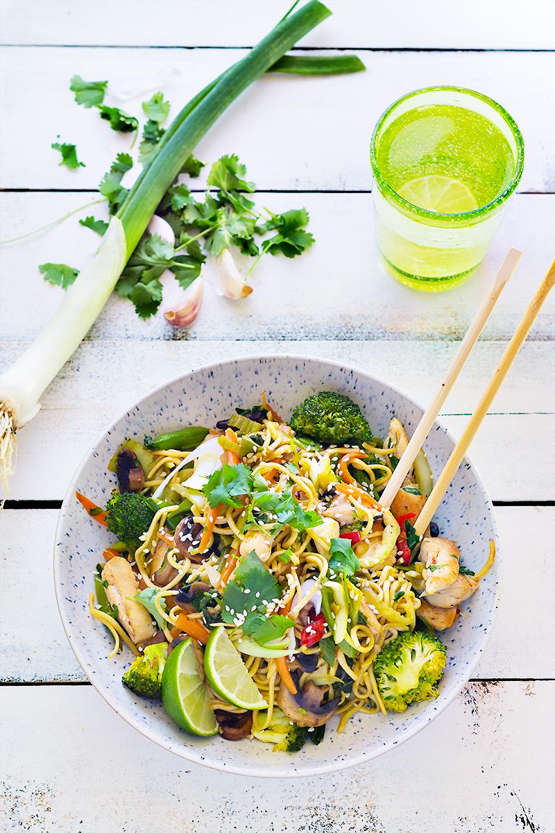 przepis na woke obiad codojedzenia