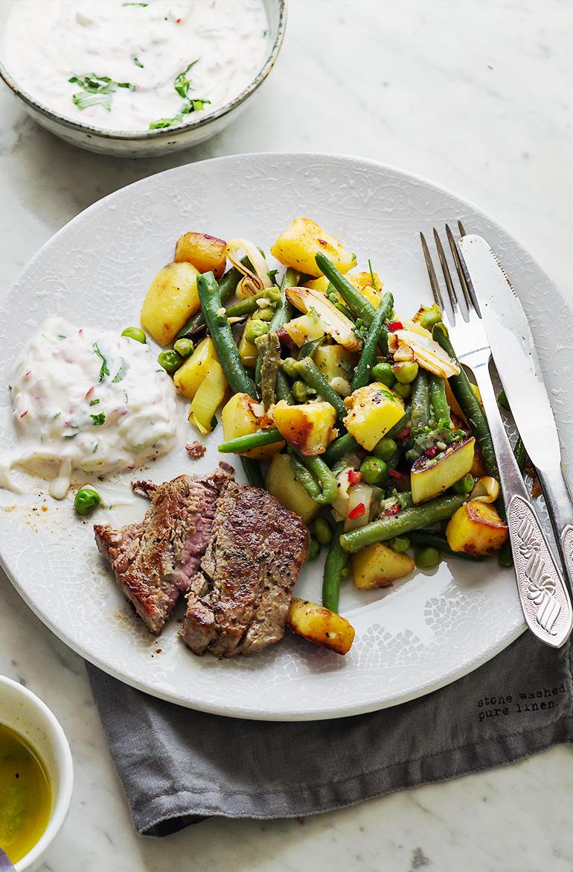 wołowina stek na obiad wielkanoc codojedzenia
