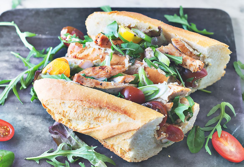 kanapki z bagietki kolacja kanapka foodblog codojedzenia