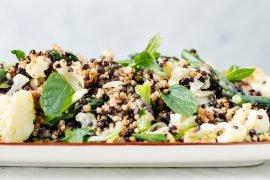 soczewica beluga sałatka gotowanie blog codojedzenia