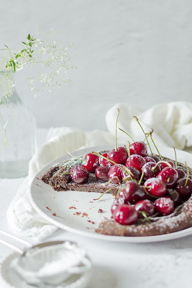 ciasto deser czekolada czereśnie przepis codojedzenia
