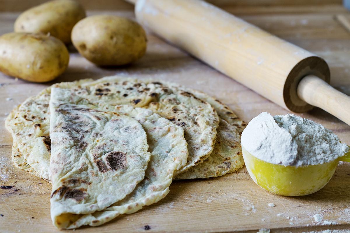 norweski chleb lomper przepis codojedzenia blog kulinarny