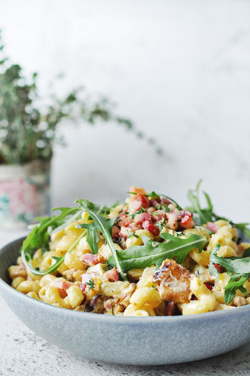 jak wykorzystać resztki obiadowe makaron tani obiad współpraca blog kulinarny