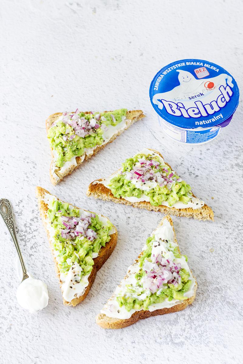 serek tosty awokado przekąska przepis bieluch