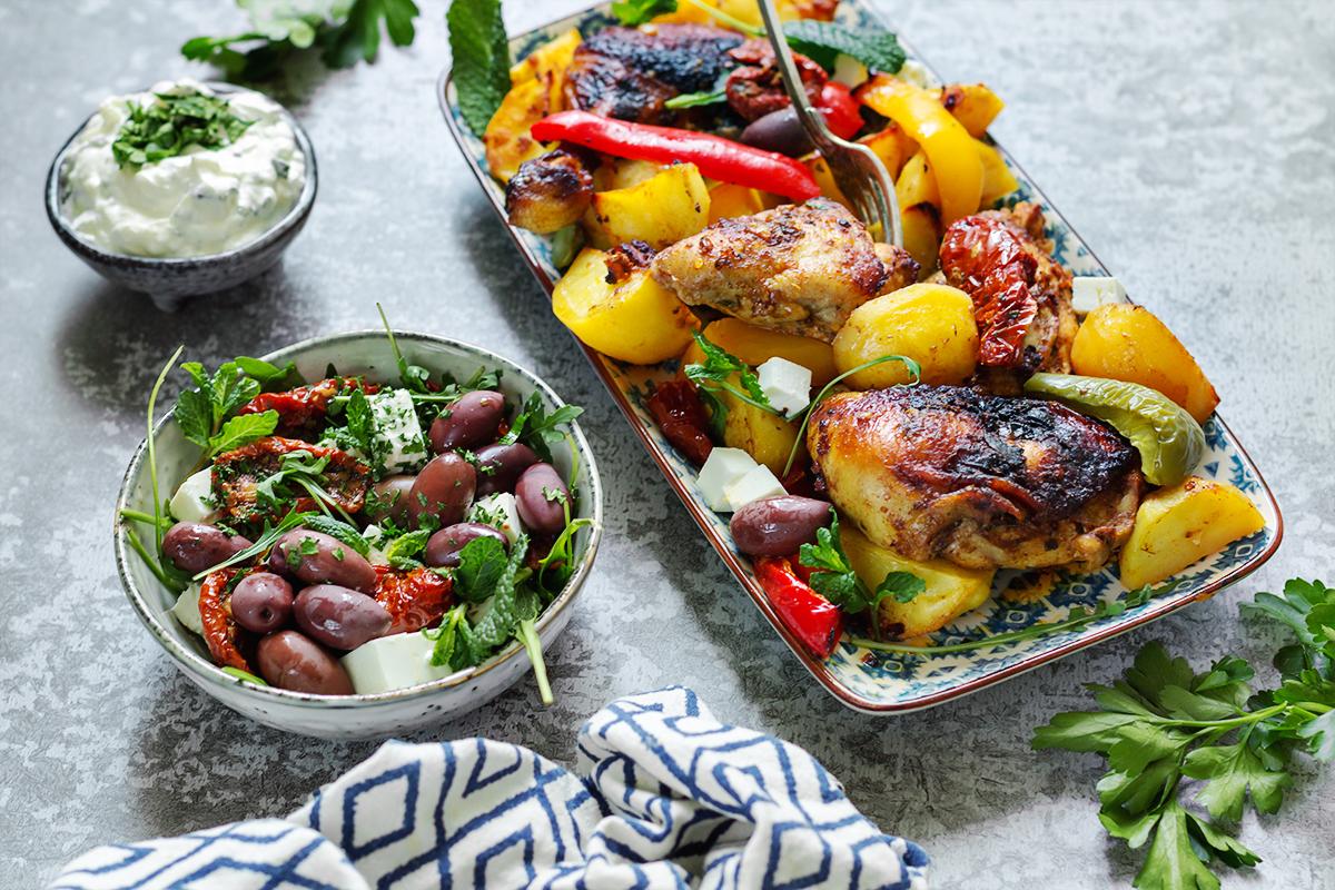 obiad_kurczak_kuchniagrecka_codojedzenia