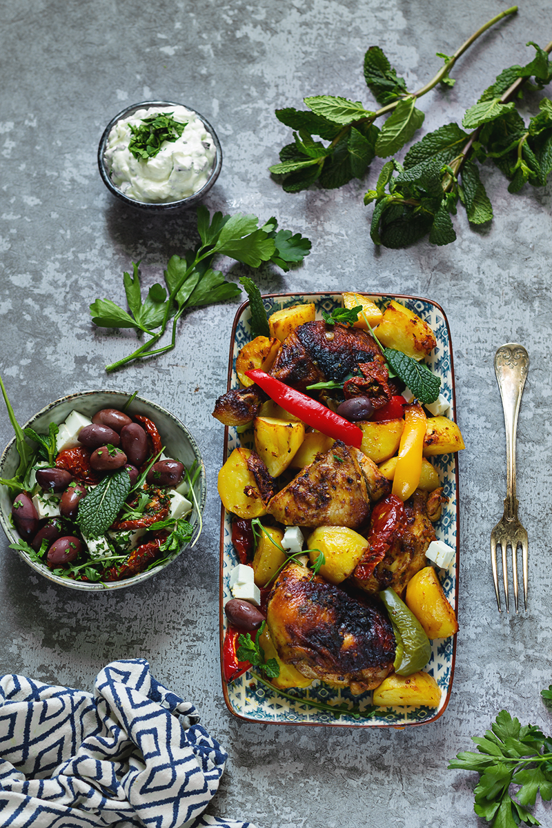 kurczak Souvlaki kuchnia grecka codojedzenia