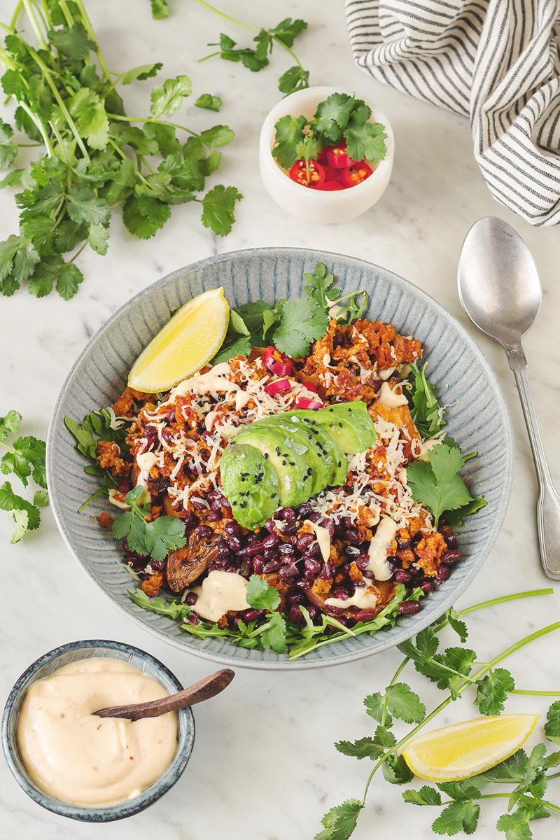 taco nadziewane bataty obiad codojedzenia