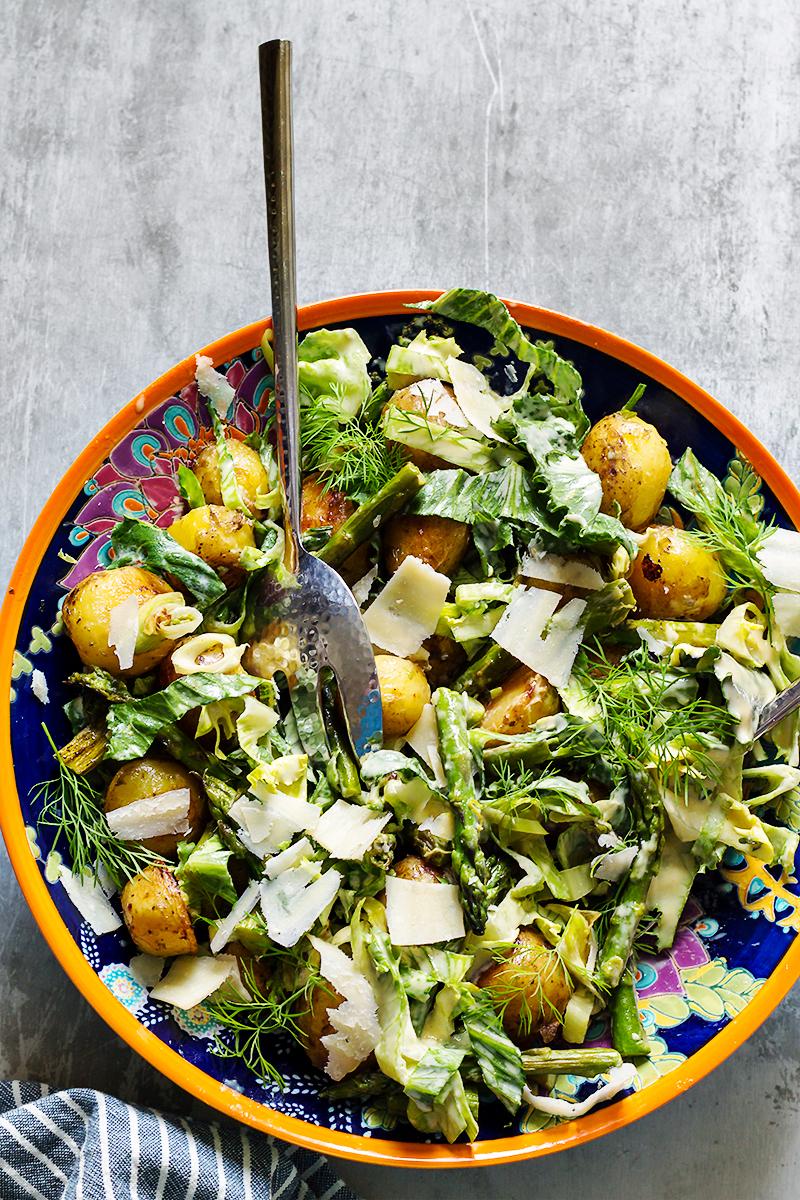 salatka ala cezar przepis codojedzenia