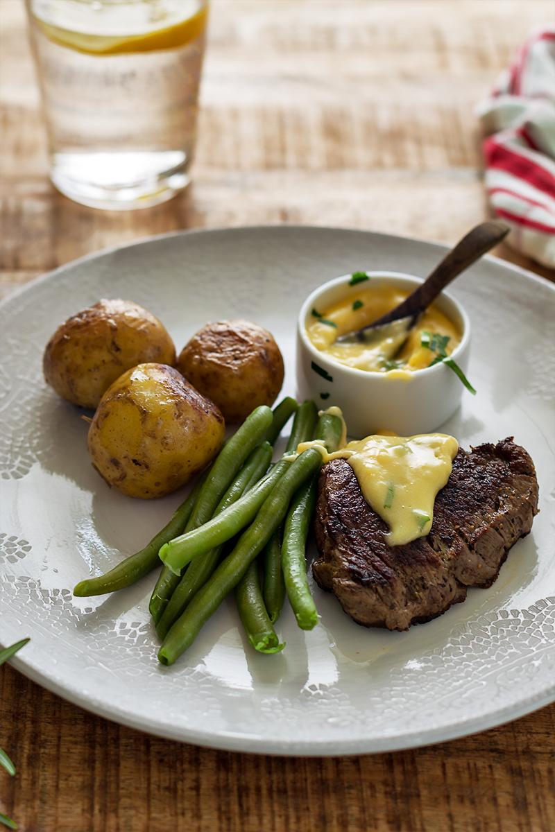stek wołowy sos bearnaise przepis codojedzenia