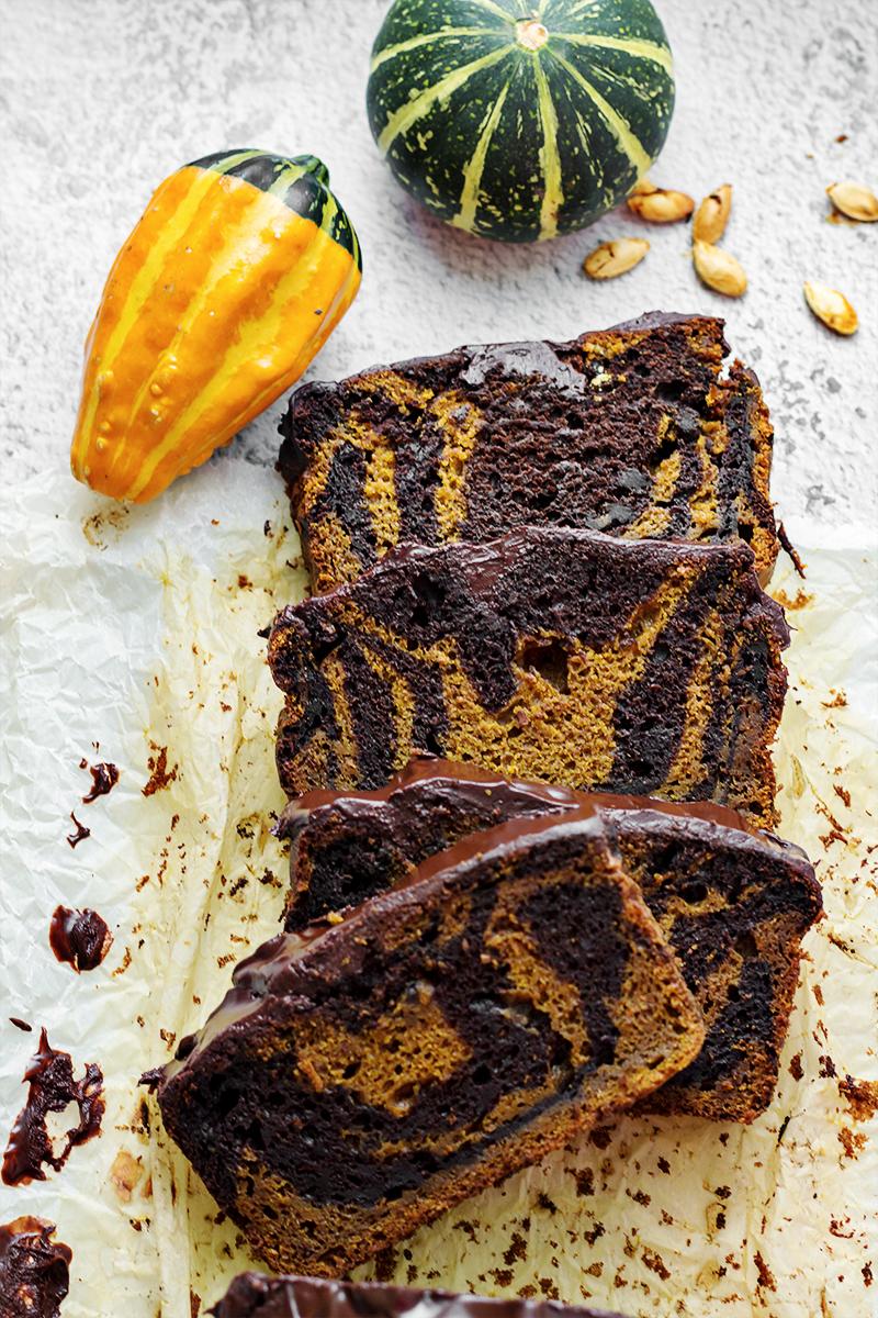 ciasto dyniowo - czekoladowe do kawy deser codojedzenia