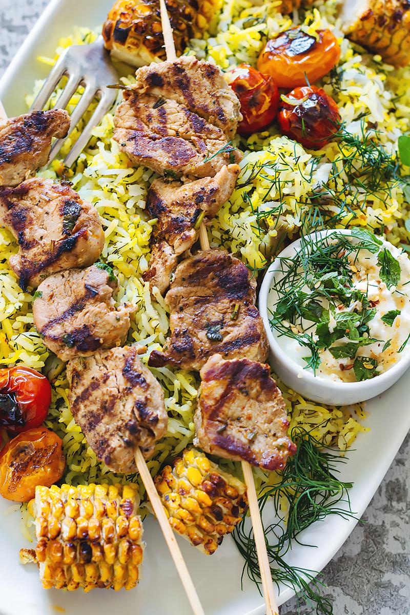 perski obiad przepis kurczak joojeh kebab codojedzenia